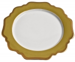 Anna\'s Palette Meadow Green Dinner Plate
