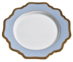 Anna\'s Palette Bky Blue Bread and Butter Plate