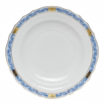Chinese Bouquet Garland Blue Salad Plate