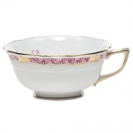 Chinese Bouquet Garland Raspberry Tea Cup