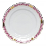 Chinese Bouquet Garland Raspberry Bread and Butter Plate