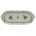 Chinese Bouquet Green Sandwich Tray