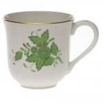 Chinese Bouquet Green Mug