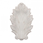 Acanthus Whitewash 7\ Leaf Tray