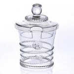 Amalia Glass Sugar/Jam Pot