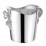 Anemone-Belle Epoque Silver Plated Champagne Cooler Bucket