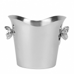 Anemone-Belle Epoque Silver Plated Ice Bucket