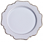 Simply Anna Antique Polka Bread and Butter Plate