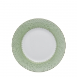 Apple Green Lace Dessert Plate