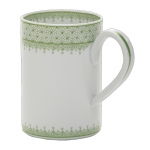 Apple Green Lace Mug