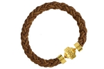 Bolo Leather Light Brown Bracelet