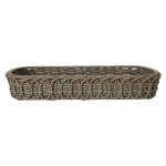 Waveney Wicker Rectangular Baker Caddy