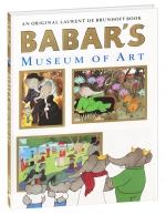 Babar\'s Museum of Art Hardcover Book