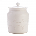 Berry & Thread Whitewash Cookie Jar