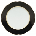 Silk Ribbon Black Service Plate