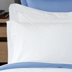 Luca White King Fitted Sheet