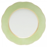 Silk Ribbon Lime Service Plate