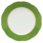 Silk Ribbon Fern Service Plate