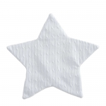 Blue Cable Star Blankie