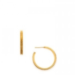 Cairo Large Gold Hoops