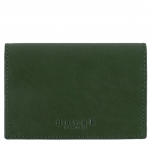 Dark Olive Business Card Holder