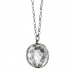Carpe Diem Necklace in Silver