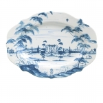 Country Estate Blue Delft Serving Platter