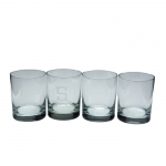 Double Old Fashion Glasses - Personalized, Set of 4