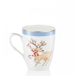 Dancer Christmas Mug