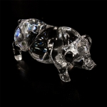 Crystal Clear Pig
