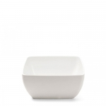 Diamond White Melamine Square White Dip Bowl