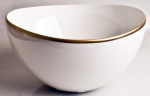 Simply Elegant Gold Open Vegetable Bowl