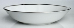 Simply Elegant Platinum Soup Bowl