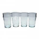 English Ale Glasses - Personalized, Set of Four