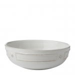 French Panel Whitewash Coupe Pasta Bowl