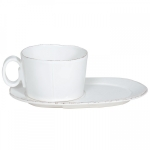 Lastra White Oval Tray