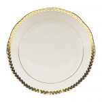 Golden Laurel Dinner Plate