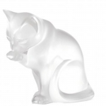 Grooming Cat Sculpture