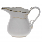 Golden Edge 4 Ounce Creamer
