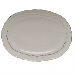Platinum Edge Oval Platter