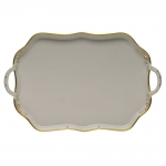 Gwendolyn Rectangular Tray with Handles