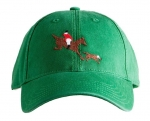 Horse and Hound Needlepoint Hat