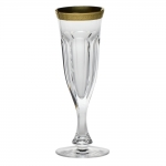 Lady Hamilton Gilded Band Champagne Flute