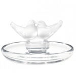 Two Lovebirds Ring Tray