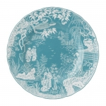 Mikado Turquoise Dinner Plate