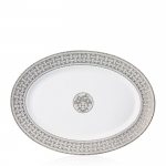 Mosaique Platinum Large Oval Platter
