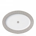 Mosaique Platinum Small Oval Platter