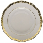 Golden Laurel Salad Plate