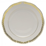 Golden Laurel Dessert Plate
