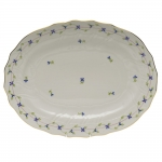 Blue Garland 17\ Oval Platter